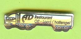Pin's Camion AD Restaurant  - 5BB28 - Transportation