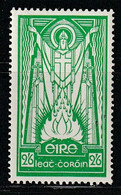 IRLANDE - N°68 * (1937) Saint Patrick - 2/6 Vert - - Unused Stamps