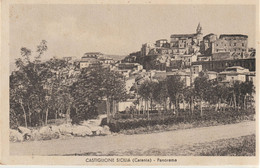 326a-Castiglione Di Sicilia-Catania-Panorama-Ed. Eis-v.1939 X Catania - Catania