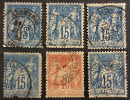 S2 Aisne Sage Aubenton + Anizy Le Château + Berry Au Lac + Boue + Coeuvre Valsery + Corbeny - 1877-1920: Semi Modern Period