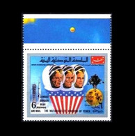 KR Jemen / Kingdom Of Yemen: 'Apollo-12 In Space – Astronaut Crew, 1969', Mi. 884; Yv. PA.108K ** - Asia