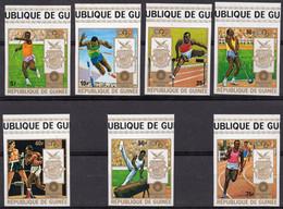 GUINÉE :1972: Y.470-76*** Postfris/neufs/MNH – Ongetand/non Dentelés/not Dentelled :  OLYMPICS 1972,MUNICH. - Estate 1972: Monaco