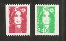 France, 2819a, 2823a, Neuf **, TTB, Roulette Avec Numéro, Marianne De Briat - 1989-96 Bicentenial Marianne