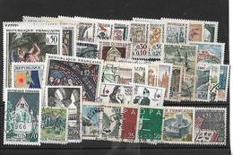FRANCE  Année Complète Oblitérée  1963 - 1960-1969