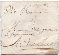 France Vienne Poitiers PD1 (depoitiers) Sans Correspondance - 1701-1800: Precursors XVIII