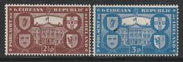 IRLANDE - N°110/1 ** (1949) Proclamation De La République - Unused Stamps