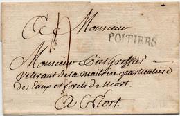 France Vienne Poitiers PD5 Sans Correspondance - 1701-1800: Precursors XVIII