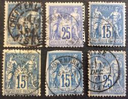 S3 Aisne Sage Crépy En Lannois + Brunehamel + Braine + Crezancy + Folembray + Guise - 1877-1920: Semi Modern Period