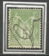 France - Type Sage - N°102 - Annulation à La Plume - 1877-1920: Semi Modern Period