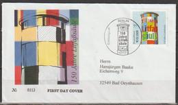 Bund 2005 FDC MiNr.2444 Gelaufen 150 Jahre Litfaßsäule (d 1929 ) - Briefe U. Dokumente