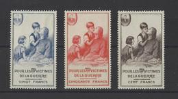 FRANCE. YT Bienfaisance Des P.T.T.  N° 69/70  Neuf **   1951 - Unclassified