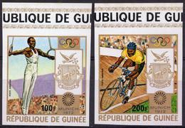 GUINÉE :1972: Y.LP/PA 105-06*** Postfris/neufs/MNH –  Ongetand/non Dentelés/not Dentelled : OLYMPICS 1972,MUNICH, - Estate 1972: Monaco