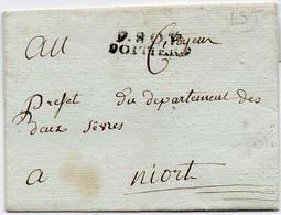France Vienne Poitiers PP5 Sans Correspondance - 1701-1800: Precursors XVIII