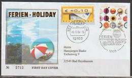 Bund 2004 FDC MiNr.2444 Gelaufen EUROPA Ferien (d 1938 )günstige Versandkosten - Briefe U. Dokumente