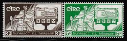 IRLANDE - N°140/1 * (1958) - Unused Stamps