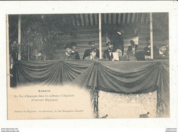 64 BIARRITZ LE ROI D ESPAGNE DANS LES TRIBUNES D AGUILERA CONCOURS HIPPIQUE CPA BON ETAT - Biarritz
