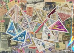 Motive Briefmarken-25 Verschiedene Dreiecke Briefmarken - Other