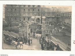 64 BIARRITZ A L HOTEL D ANGLETERRE DEPART DE LA CHASSE AU RENARD - Biarritz