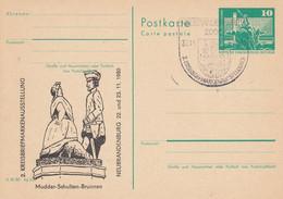 DP 79 Bauwerke Berlin Rathausstr.  Mit Zudruck: Mudder-Schulten-Brunnen, Neubrandenburg - Postkarten - Gebraucht