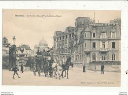 64 BIARRITZ LE PAVILLON HENRI 4 ET LE CARLTON HOTEL AVEC DILIGENCE CPA  BON ETAT - Biarritz