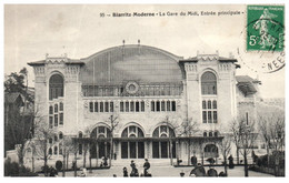 64 BIARRITZ MODERNE - La Gare Du Midi - Entrée Principale - Biarritz