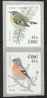 IRLANDE - N°1436/7 ** (2002) Série Courante : Oiseaux . - Nuovi