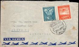 Cuba - 1955 - Lettre - Par Avion - Envoyé En Argentine - Covers & Documents