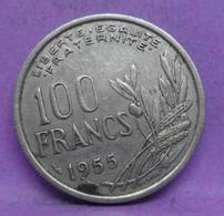 100 Francs Cochet 1955 B - TB+ - Ancienne Pièce De Monnaie Collection Française - N24212 - N. 100 Francs
