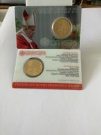 """Pièce 50 Centimes Coincard Officielle  Vatican 2021  N°12   """" Pape François """" - Vatikan"""