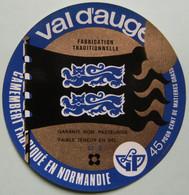Etiquette Camembert - Val D'Auge Bleu - Fromagerie Rigaud Champsecret 61-S Normandie - Orne    A Voir ! - Cheese