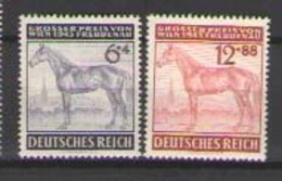ГЕРМАНИЯ  Michel # 857-858  1943  MLH OG - Ungebraucht