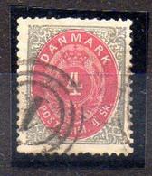 Dinamarca Sello N ºYvert 18 O - Used Stamps