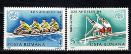 Romana 1984 Mi. 4046**, 4047**, Yv. 3512**, 3513** MNH Los Angeles 84 - Nuovi
