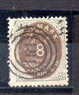 Dinamarca Sello N ºYvert 19 O - Used Stamps