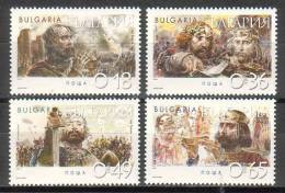BULGARIA - 2002 - Historie - 4v** - Ungebraucht