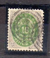 Dinamarca Sello N ºYvert 20 O - Used Stamps
