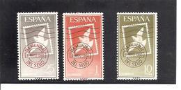 España/Spain-(MNH/**) - Edifil  1348-50 - Yvert  1021-23 - 1961-70 Nuovi