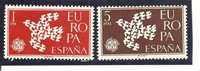 España/Spain-(MNH/**) - Edifil  1371-72  - Yvert  1044-45 - 1961-70 Nuovi