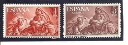 España/Spain-(MH/*) - Edifil  1326-27  - Yvert  1003-04 - 1961-70 Nuovi