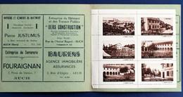 Carmel Auch 6 Vignettes**Touristique Bloc Rare En Carnet-☛Erinnophilie,stamp,Timbre,Label,Sticker-Aufkleber-Bollo-Viñeta - Blocs & Carnets