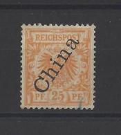 CHINE.Bureau Allemand  YT  N° 5  Obl   1897 - Deutsche Post In China
