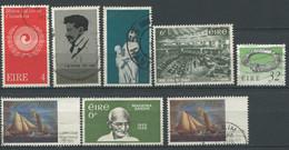 IRLANDE / EIRE. Lot De 8 Timbres Oblitérés     SP4 - Used Stamps