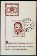 CSSR 1949,Michel# Block 10 O - Used Stamps