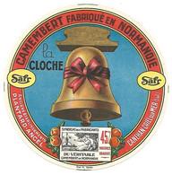 Etiquette Camembert Safr PLANTARD-ANCEL Canehan-Criel Sur Mer - Cheese