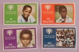"MALAWI YT 334/337 NEUFS**MNH ""ANNEE INTERNATIONALE DE L ENFANT"" ANNÉE 1979 - Malawi (1964-...)"