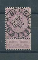 "N°66 OBLITERE""BRUXELLES"" - 1893-1900 Fine Barbe"