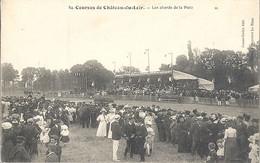 CPA Courses De Chateau-du-Loir Les Abords De La Piste - Chateau Du Loir