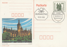 DP 109/03  Schwerin, Schloß, Mit Druckvermerk, Berlin ZPF - Postkarten - Gebraucht