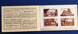 Dangé-Saint-Romain Vienne-Comice Agricole 4 Vignettes**Touristique Rare En Carnet Bloc -☛Erinnophilie,stamp,Timbre,Label - Blocs & Carnets