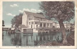 CPA Chateau-du-Loir Coëmont - Usine Electrique - Chateau Du Loir